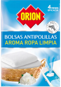 ORION ANTIPOLILLAS BOLAS AROMA ROPA LIMPIA 20 UNIDADES