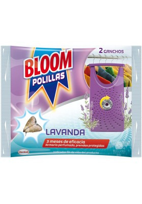 BLOOM ANTIPOLILLAS LAVANDA DUPLO
