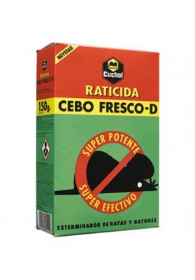 CUCHOL RATICIDA CEBO FRESCO 150 GRAMOS