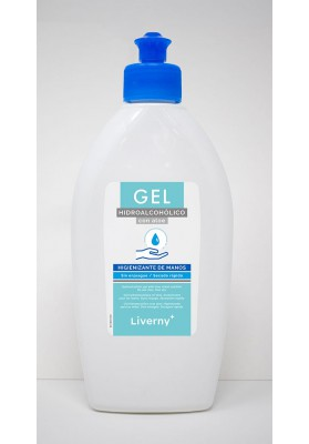 LIVERNY GEL HIDROALCOHOLICO SANITARIO 500 ML.