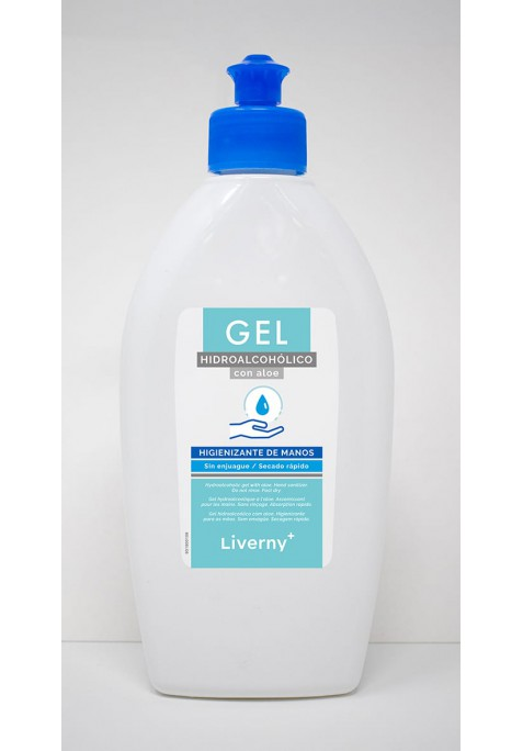 LIVERNY GEL HIDROALCOHOLICO SANITARIO 200 ML.