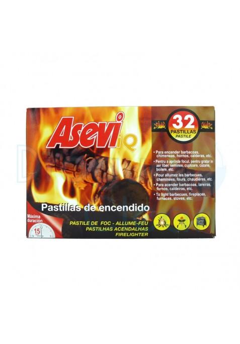 ASEVI PASTILLAS ENCENDIDO 32 UNIDADES