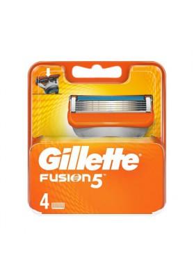 GILLETTE FUSION 5 CARGADOR 4 UNIDADES