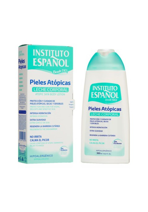 INSTITUTO ESPAÑOL BODY MILK PIELES ATÓPICAS 300 ML