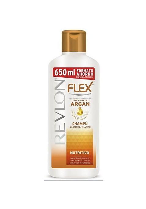 FLEX CHAMPÚ NUTRITIVO ARGÁN 650 ML