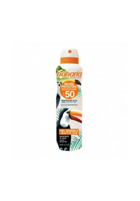 BABARIA TROPICAL SPRAY PARA PIELES SENSIBLES F50
