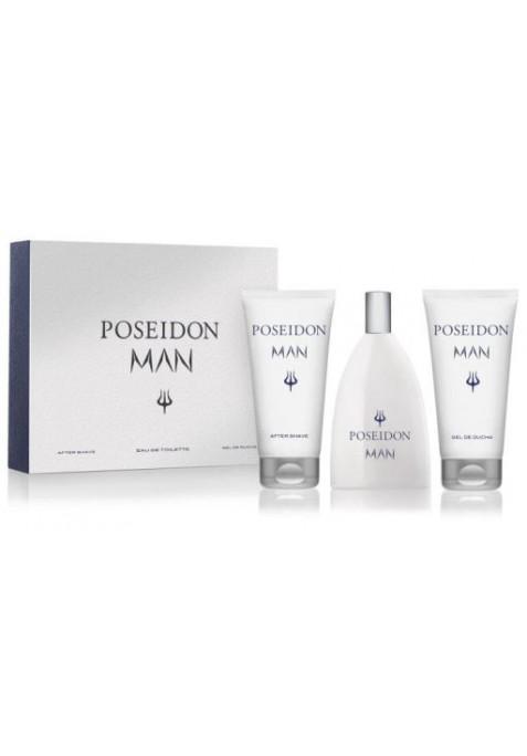 POSEIDON MAN ESTUCHE 3 PIEZAS