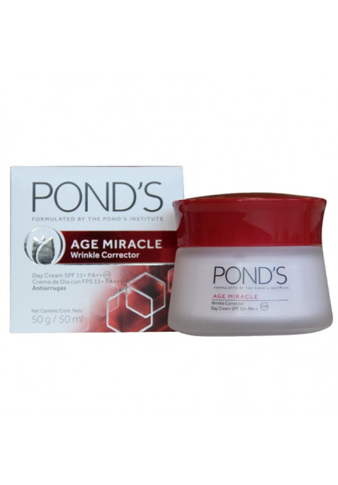 POND'S AGE MIRACLE CREMA ANTIARRUGAS 50 DIA FPS 15 ML.