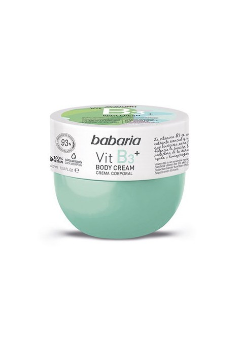 BABARIA CREMA CORPORAL VITAMINA B3 400 ML