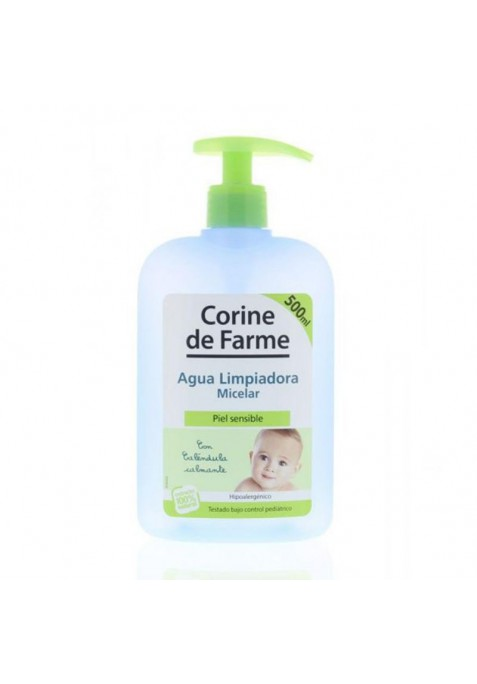 CORINE DE FARME AGUA MICELAR PIEL SENSIBLE 500 ML