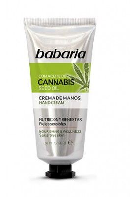 BABARIA CANNABIS CREMA DE MANOS 50 ML