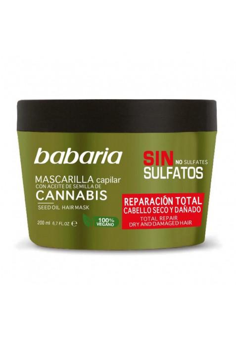 BABARIA CANNABIS MASCARILLA CAPILAR REPARADORA 200 ML