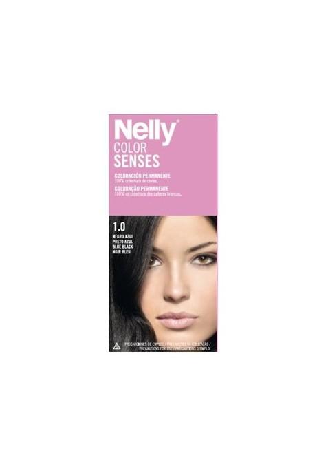 NELLY TINTE SENSES 1.0 NEGRO AZUL