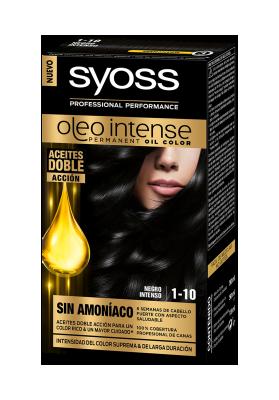 SYOSS TINTE OLEO INTENSE 1-10 NEGRO INTENSO