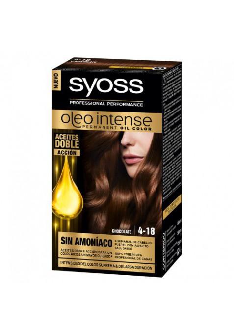 SYOSS TINTE OLEO INTENSE 4-18 CHOCOLATE