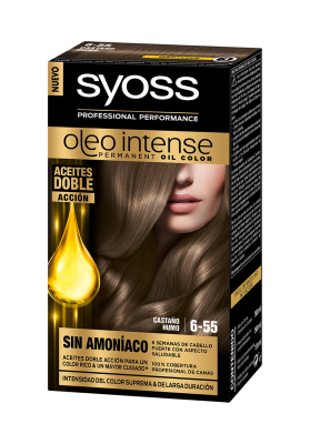 SYOSS TINTE OLEO INTENSE 6-55 CASTAÑO HUMO