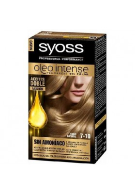 SYOSS TINTE OLEO INTENSE 7-10 RUBIO NATURAL