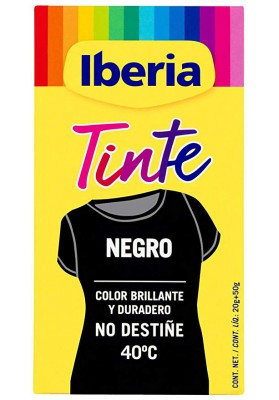 IBERIA TINTE ESPECIAL NEGRO