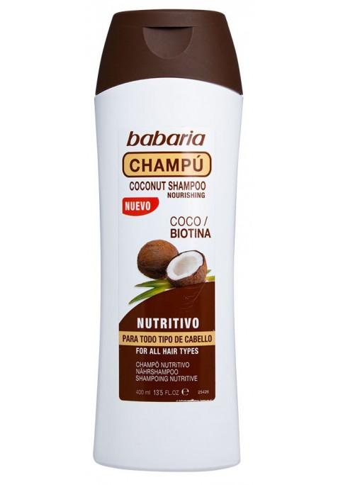 BABARIA COCO CHAMPÚ 400 ML