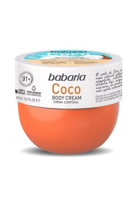 BABARIA CREMA CORPORAL COCO 400 ML