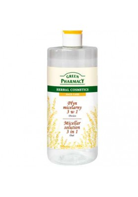 GREEN PHARMACY AGUA MICELAR AVENA 3 EN 1 500 ML