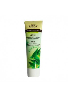 GREEN PHARMACY CREMA DE MANOS HIDRATANTE ALOE VERA 100 ML