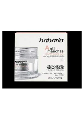 BABARIA ANTI MANCHAS CREMA INTENSIVA 50 ML.