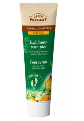 GREEN PHARMACY CREMA PIES EXFOLIANTE ABETOY ALBARICOQUE