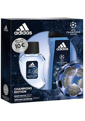 ADIDAS CHAMPIONS LEAGUE ESTUCHE EDT 50ml + GEL 250ml