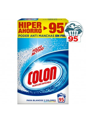 COLON DETERGENTE POLVO ACTIVO 95 CACITOS