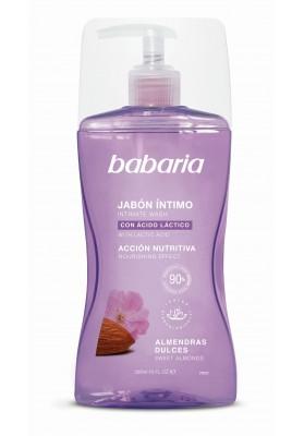 BABARIA JABÓN ÍNTIMO ALMENDRAS 300 ML