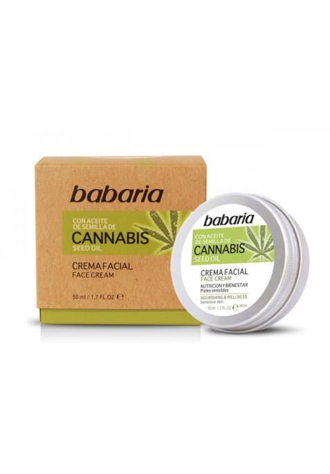 BABARIA CON SEMILLA DE CANNABIS CREMA FACIAL 50 ML