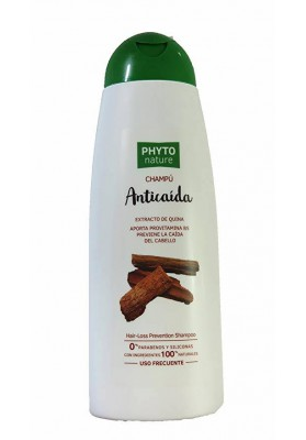 PHYTO NATURE CHAMPÚ ANTICAIDA A BASE DE QUINA 400 ML.