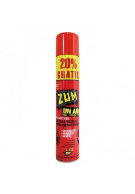 ZUM INSECTICIDA CUCARACHAS 1 AÑO 650 ml + %