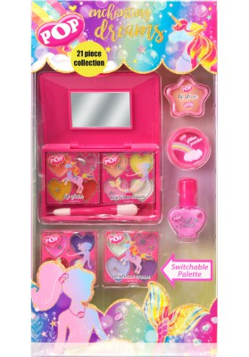 MARKWINS POP ESTUCHE MAQUILLAJE 21 PIEZAS ENCHANTING DREAMS