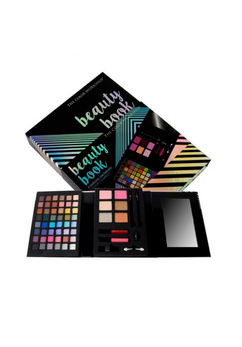 MARKWINS ESTUCHE DE MAQUILLAJE BEAUTY BOOK THE COLOR WORKSHOP