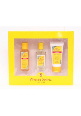 ALVAREZ GOMEZ ESTUCHE COLONIA 80 ML+GEL 90 ML+EMULSIÓN 75ML
