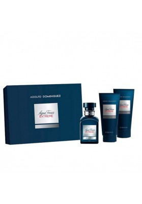 ADOLFO DOMÍNGUEZ ESTUCHE AGUA FRESCA EXTREME EDT 120 ML + AFTER 75 ML + VIAL 20 ML