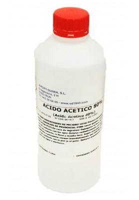 ÁCIDO ACÉTICO 80% 1 LITRO