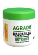 AGRADO MASCARILLA CAPILAR NUTRITIVA 500 ML.