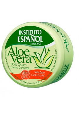 INSTITUTO ESPAÑOL CREMA CORPORAL ALOE TARRO 400 ML