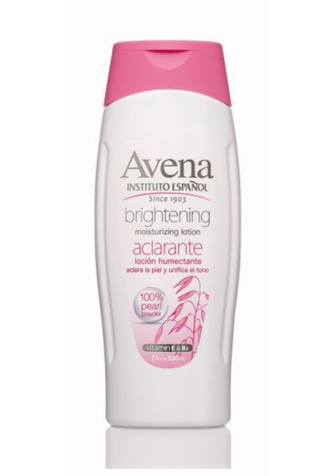 Instituto Español Body Milk Avena Aclarante 500 ml.