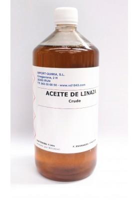 ACEITE DE LINAZA CRUDO 1000 ML.