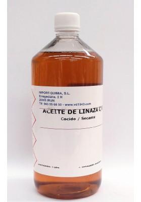 ACEITE DE LINAZA COCIDO - SECANTE 1000 ML-