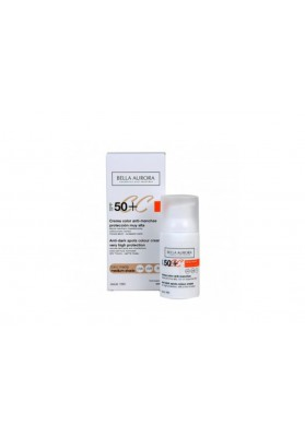 BELLA AURORA CREMA COLOR ANTIMANCHAS SPF 50+ TONO MEDIO