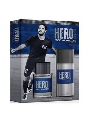 HERO SPORT ISCO ALARCÓN ESTUCHE EDT 100ml + DEO 150ml