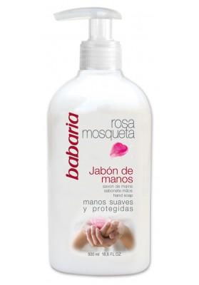 BABARIA JABÓN DE MANOS ROSA MOSQUETA 500 ML DOSIF.