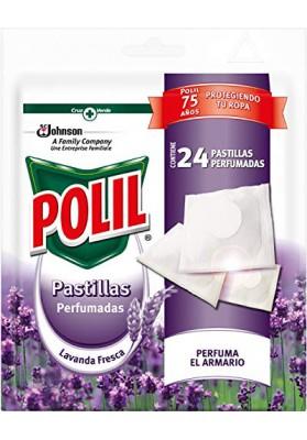 POLIL PASTILLAS PERFUMADAS ANTI POLILLA LAVANDA FRESCA