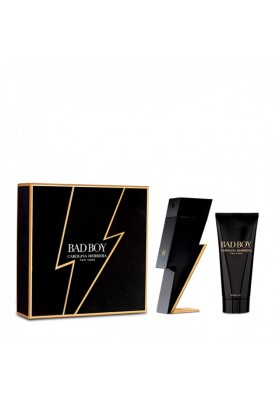 CAROLINA HERRERA BAD BOY ESTUCHE EDT 100ML VAPO + GEL 100ML