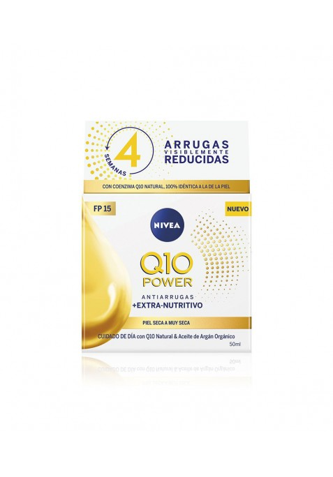 NIVEA CREMA ANTIARRUGAS Q10 PLUS SPF15 50ML